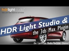 The HDR Light Studio Plugin for 3ds Max - HDRI Lighting Mini Tutorial - YouTube