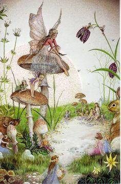 Сказочные иллюстрации jean and ron henry. Magical Creatures, Fantasy Creatures, Arte Hippy, Fable, Mushroom Art, Vintage Fairies, Dibujos Cute, Love Fairy, Fairytale Art