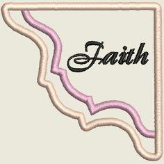 ITH Corner Bookmarks Faith Corner Bookmarks, Word Art, Blackwork, Machine Embroidery Designs, Quilt Blocks, Free Design, Faith, Words, Loyalty