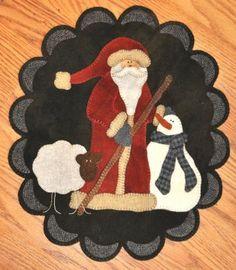 Santa & Company Pennyrug
