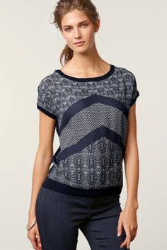 b37668f7fc8 Buy Printed Woven Front Sweater online today at Next  Israel Next Uk