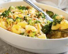 Grâtin de pâtes aux brocolis et jambon à la sauce blanche légère : http://www.fourchette-et-bikini.fr/recettes/recettes-minceur/gratin-de-pates-aux-brocolis-et-jambon-la-sauce-blanche-legere.html