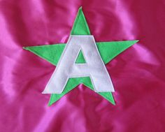 Superhero Cape QUICK SHIPPING Personalized with star, bolt, starburst, heart on Etsy, $11.00