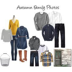 what to wear for fall family pictures - Google Search