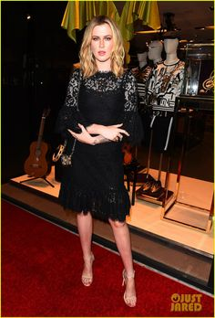 Ireland Baldwin in Dolce & Gabbana