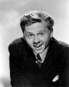 Mickey Rooney (Joseph Yule Jr - September 23 1920) - American film / stage and television actor and entertainer