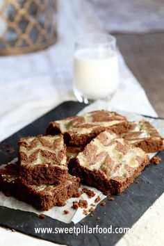 The MOST DELICIOUS Chocolate Tahini Brownies! With a subtle nutty flavor that will make you never want to make plain brownies again! White Chocolate Desserts, Delicious Chocolate, Vegetarian Chocolate, Chocolate Recipes, Fall Recipes, Holiday Recipes, Summer Recipes, Brownie Recipes, Dessert Recipes