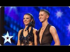 AJ and Chloe drop jaws with their dancing - Week 2 Auditions | Britain's Got Talent 2013 - YouTube