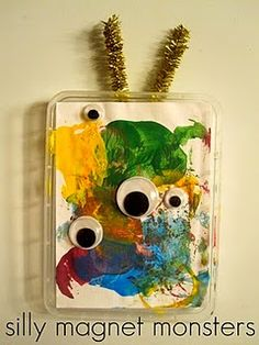 Silly Magnet Monsters