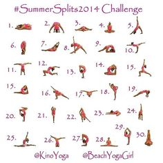 #summersplits2014challenge lets do this!