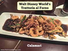 Disney Food:  Trattoria al forno menu ~  Disney World's BoardWalk Resort & Spa