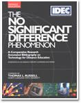 Cover of The No Significant Difference Phenomenon