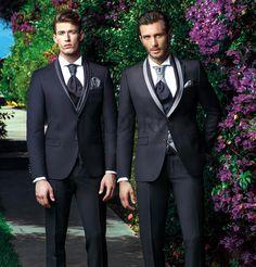 BA 1-16-17  - MAS 6000 #sposo #groom #suit #abito #wedding #matrimonio #nozze #nero #black #gray #grigio