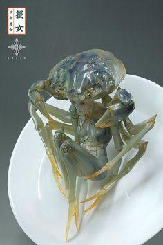 高木アキノリ (@haruki_creation) | Twitter Monster Design, Monster Art, Alien Creatures, Fantasy Creatures, Alien Concept, Concept Art, Aliens, Dark Fantasy, Fantasy Art