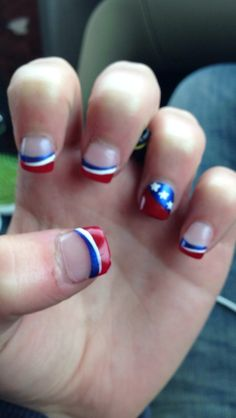 4th of July nails❤️