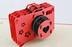 Digital Camera Paper Cutting Free Paper Craft Template Download