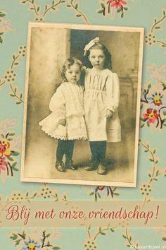 vintage-blij-met-onze-vriendschap