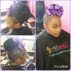 braids and bead styles for kids . hair tip natural hairstyles for kids children s hair moisturizing hair If you liked this pin, click now for more details. Lil Girl Hairstyles, Natural Hairstyles For Kids, African Hairstyles, Braided Hairstyles, Natural Hair Styles, Little Girl Braids, Braids For Kids, Girls Braids, Kid Braid Styles