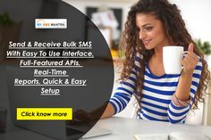 Send & Receive Bulk SMS With Easy To Use Interface, Full-Featured APIs, Real-Time Reports, Quick & Easy Setup. Know more details visit : http://www.mysmsmantra.com/