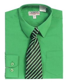 Gioberti Boy's Long Sleeve Dress Shirt + Stripe Clip Tie-2T-Green Gioberti,http://www.amazon.com/dp/B00FN2YJTS/ref=cm_sw_r_pi_dp_VLeDsb009B7NY9EA