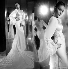 Here it is again. I like it better without the sleeves. Elihav Sasson designs beautiful mermaid wedding dresses!!
