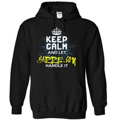 (Tshirt Perfect Sale) Keep Calm and Let HARRELSON Handle It Best Shirt design Hoodies Tees Shirts