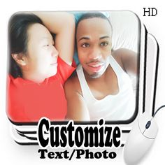 Customized Mouse Pad Mouse Pad With Text/Photo by GTArtland on Etsy