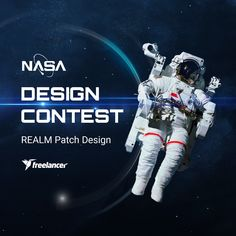 NASA Challenge: Create a Graphic/Patch Design for the REALM project contest on Freelancer. Enter this Branding contest, find Design jobs or post a similar contest for free! Patch Design, Space Exploration, Mobile Application, Nasa, Patches, Engineering, Challenges, Branding, Graphic Design