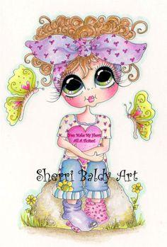My-Besties Butterfly Bestie 3 Fine Art Print-