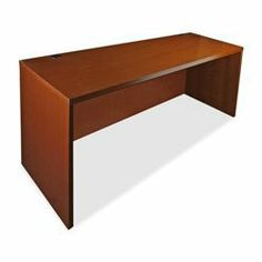 Lorell Rectangular Desk Shell, 66 by 30 by 29-Inch, Cherry by Lorell. $389.49. Desk and credenza shells have full modesty panels. All surfaces are varnished for maximum durability. Drawer fronts are vertical grain matched. 88000 Series Fluted Edge Veneer Furniture features hardwood veneers on all exposed surfaces, book matched to produce a uniform grain pattern. All surfaces are varnished for maximum durability. Drawer fronts are vertical grain matched. Grommets are standard o...