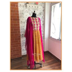 """Intish by Chintya ™️ on Instagram: """"Saree upcycled into a beautiful midi dress 🌼 . . DM us for more details . . . #sareeconverts #leheriya #mididress #vocalforlocal…"""" Upcycle, Sari, Detail, Beautiful, Instagram, Dresses, Fashion, Gowns, Moda"""