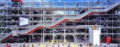 centre pompidou, richard rogers, renzo piano