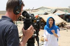 For Afghan-born BBC correspondent, Yalda Hakim, interacting with people and understanding their lives and stories is crucial to her work as a journalist. #Inspiring #Journalism