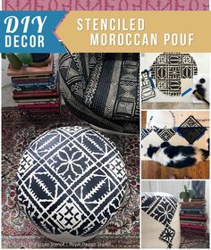 Sprays lattices and stencils on pinterest for Moroccan style decor in your home
