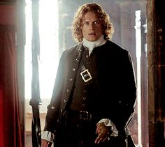 Soooooo, Jamie. Our challenge with Jamie's costumes was actually not unlike our challenges with Claire. We needed him to move into the inner circle of the French Court, and yet retain his ess…