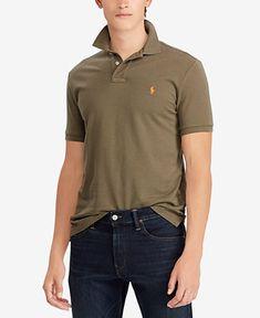 a49d56b111 Men s Custom Slim Fit Mesh Polo