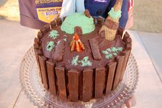 Babblings and More: Boy Scout Cake Decorating Contest