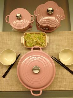 Baby pink Le Creuset - I need this!!!