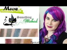 Meow Cosmetics Something Wicked Review and Video | Phyrra - Beauty for the Bold