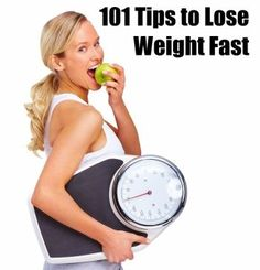 101 Big Tips to lose weight fast