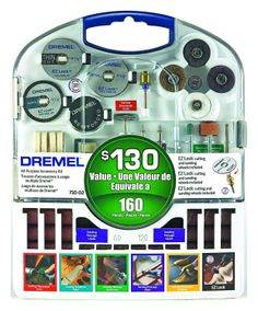 Dremel 710-05 160 Piece Accessory Kit - Amazon.com