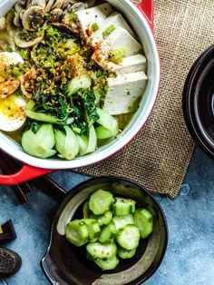 Miso soup base is much healthier and tastier.  All you need to add is some fresh greens.  You can always substitute for your favorite Asian noodle.
