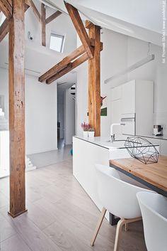 foorni.pl | Mieszkanie z pracownią na poddaszu, kuchnia