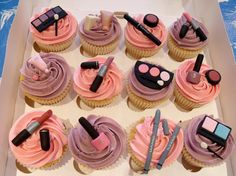 NIBBLE AND SCOFF CAKES - Themed Cupcake Gallery