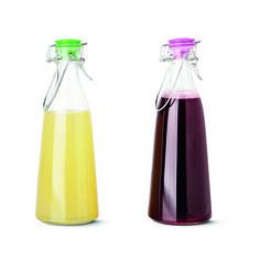 Sezon na przetwory. Sezon na butelki, słoiki, pojemniki. #glass #bottle #butelka