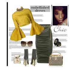 """""""*Make a Statement: Embellished Sleeves contest* - Set#6"""" by sassy-elisa ❤ liked on Polyvore featuring Kori, Forever 21, Christian Siriano, Child Of Wild, Fendi, Gucci, Versace and embellishedsleeves"""