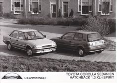 Toyota Corolla Sedan & Hatchback 1.3 XL-i Spirit (importer photo, NL)