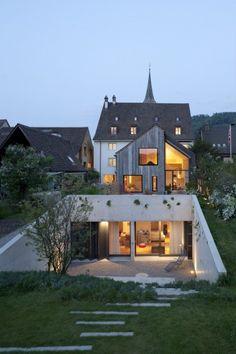 Kirchplatz Office + Residence / Oppenheim Architecture + Design