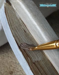 Create a Restoration Hardware Finish with General Finishes Milk Paint & Glaze Effects   Anastasia Vintage