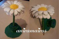 Pluma flor (Margarita) | Foamy | Pinterest